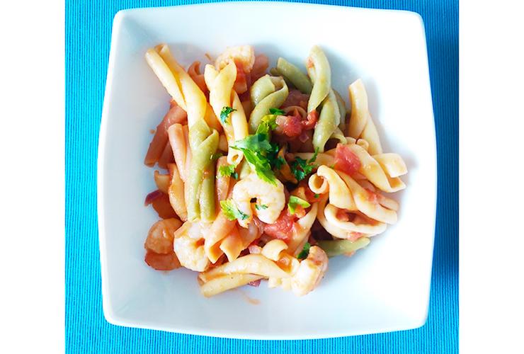 Paste italiene cu fructe de mare