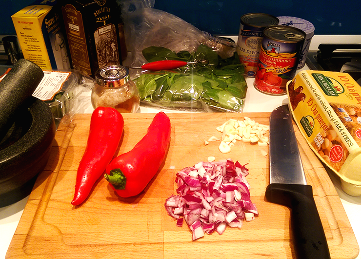 Ingrediente Shakshuka