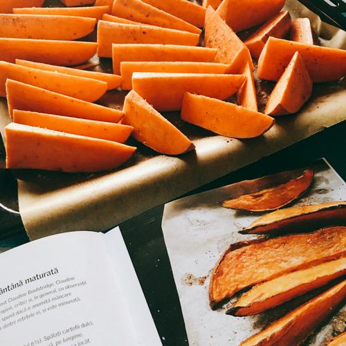 Cartofi dulci raw