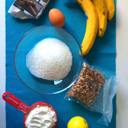 ingrediente banana bread